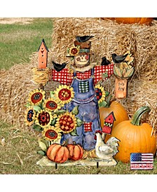by Susan Winget Bethany Scarecrow Outdoor, Wall and Lawn Decor
