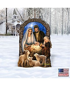 by Dona Gelsinger Miracle Nativity Home and Outdoor Decor