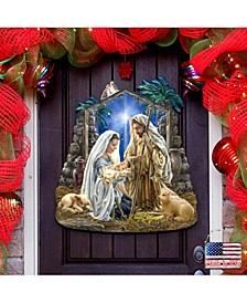 by Dona Gelsinger Glory to God Outdoor Wall and Door Hanger