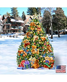 by Dona Gelsinger Teddy Bear Tree Home and Outdoor Decor