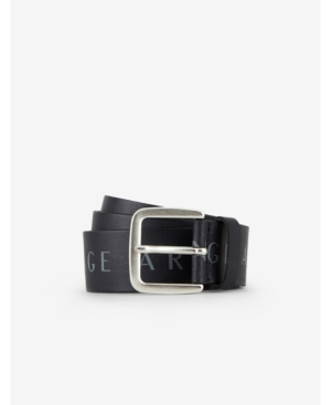 All over Printed Ax Logo Leather Belt