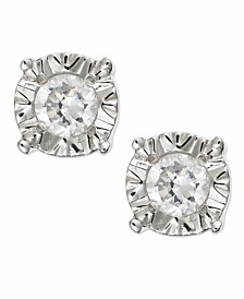 Diamond Stud Earrings in 10k Gold, White Gold or Rose Gold (1/4 ct. t.w.)