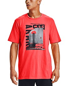Men's Graphic Logo Basketball T-Shirt