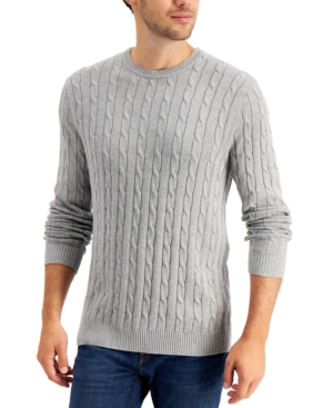 Men's Cable-Knit Sweater
