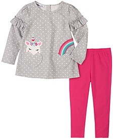 Baby Girls Heart Tunic Legging Set