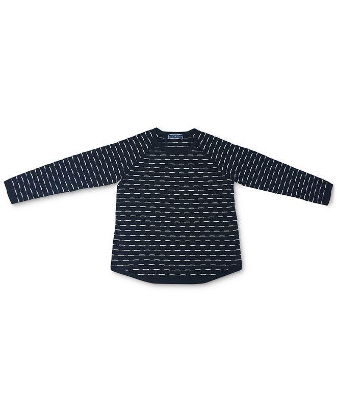 Karen Scott Plus Size Box-Stitch Sweater, Created for Macy's