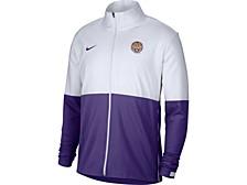 LSU Tigers Men's Woven Full Zip Jacket