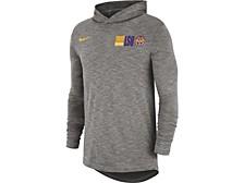 LSU Tigers Men's Slub Sideline Hooded Long Sleeve T-Shirt