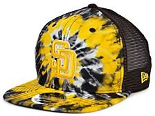 San Diego Padres Tie Dye Mesh Back 9FIFTY Cap