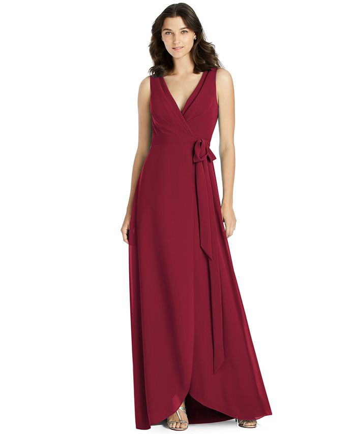 Jenny Packham - A-Line Wrap Gown