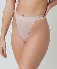 Super Soft Rib High Leg Women's Thong