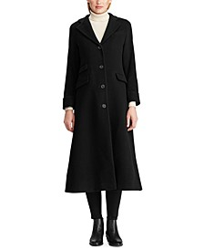 Wool-Cashmere Maxi Coat