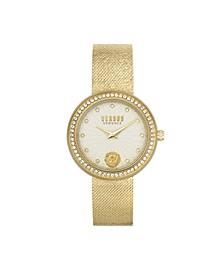 Women's Lea Gold Tone Stainless Steel Bracelet Watch 35mm