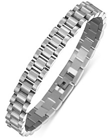 INC Men's Stainless Steel Watch Link Chain Bracelet, Created for Macy's