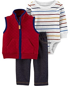 Big Boy 3-Piece Little Vest Set