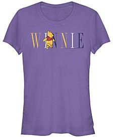Women's Winnie the Pooh Fashion Short Sleeve T-shirt