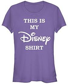 Women's Disney Logo My Disney Shirt Short Sleeve T-shirt