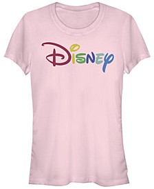Women's Disney Logo Multicolor Disney Short Sleeve T-shirt