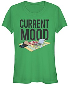 Women's Disney Lilo Stitch Current Mood Lilo Short Sleeve T-shirt