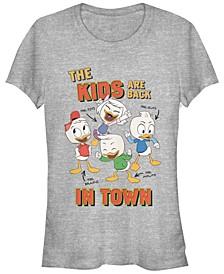 Women's Duck Tales Back in Town Short Sleeve T-shirt