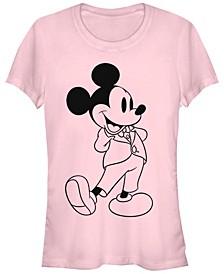 Women's Disney Mickey Classic Formal Mickey Short Sleeve T-shirt