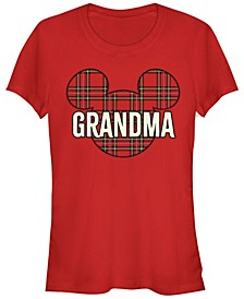 Women's Disney Mickey Classic Grandma Holiday Short Sleeve T-shirt