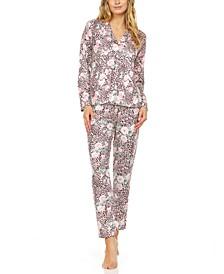 Lucia Mixed Print Pajamas Set