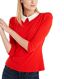 Charlotte Puff-Sleeve Top, Created for Macy's