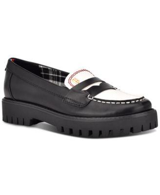 Rimini Lug Loafer Flats