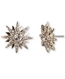 Crystal Star Cluster Stud Earrings