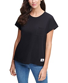 Chest-Pocket Cotton T-Shirt
