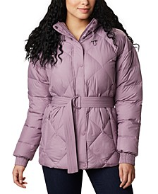 Women's Icy Heights Belted Hooded Jacket