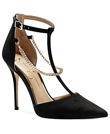 Wintelle T-Strap Pumps