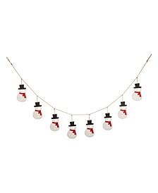 Christmas Snowman Garland