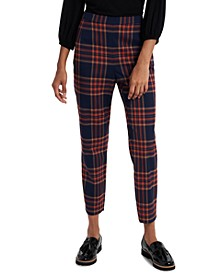 Warren Plaid Ankle Pants, Created for Macy's