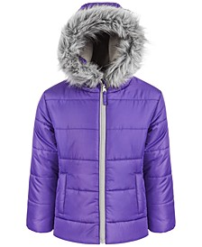 Toddler Girls Quilted Puffer Coat