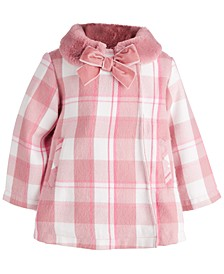 Baby Girls Girl Plaid Coat, Created for Macy's