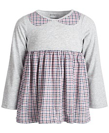 Baby Girls Plaid Tunic, Created for Macy's