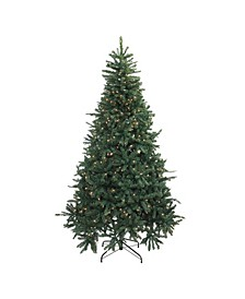 Pre-Lit Full Northern Pine Artificial Christmas Tree