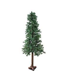 Mixed Woodland Alpine Artificial Christmas Tree-Unlit