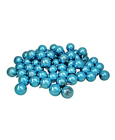 60 Count Shatterproof Shiny Christmas Ball Ornaments
