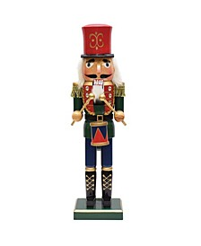 Standing Nutcracker Drummer Christmas Tabletop Decor