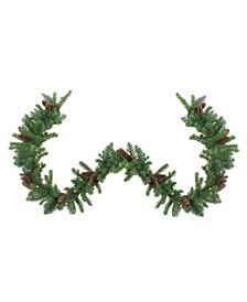 Pre-Lit Dakota Pine Artificial Christmas Garland
