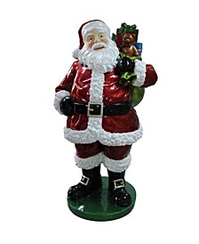 Standing Santa Claus with Presents Christmas Décor