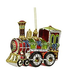 Contemporary Train Christmas Ornament