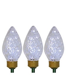 LED Jumbo Bulb Christmas Pathway Marker Lawn Stakes