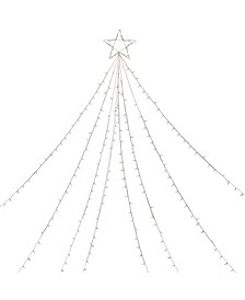 Clear Lighted Christmas Display Tree Outdoor Decor