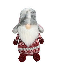 Nordic Gnome Fur Trapper Hat Christmas Decoration