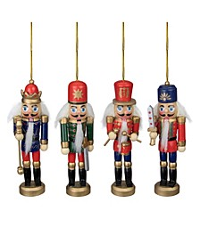 Christmas Nutcracker Ornaments, Pack of 4