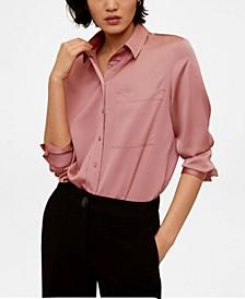 Satin Pocket Shirt